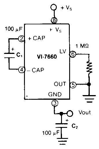 Efficient Supply Splitter Circuit Diagram