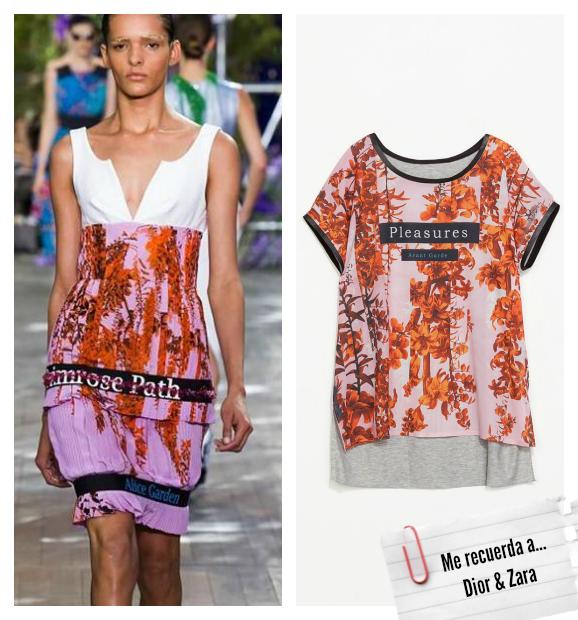 Clones moda primavera verano 2014 Dior