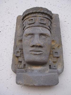 Réplicas de civilizaciones antiguas para decoración