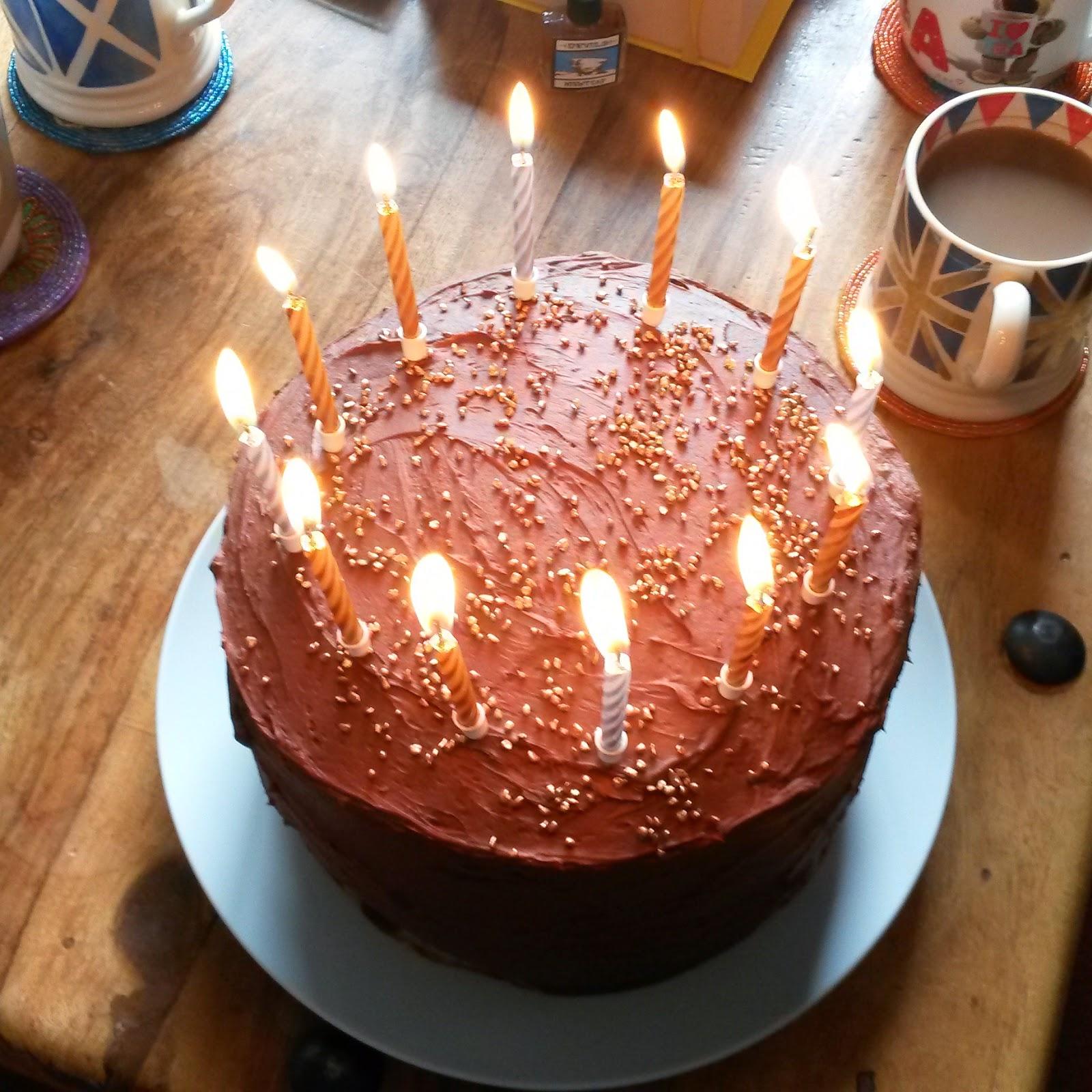 Theoriginalbakebakegirl Monday Ta Da Triple Chocolate Caramel Cake