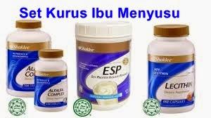 Gabungan Alfalfa Lecithin ESP Bukan Saja Turun Berat Badan Tapi Merawat Keputehan dan Alergi Makanan Laut Fatin Nur Enzatty