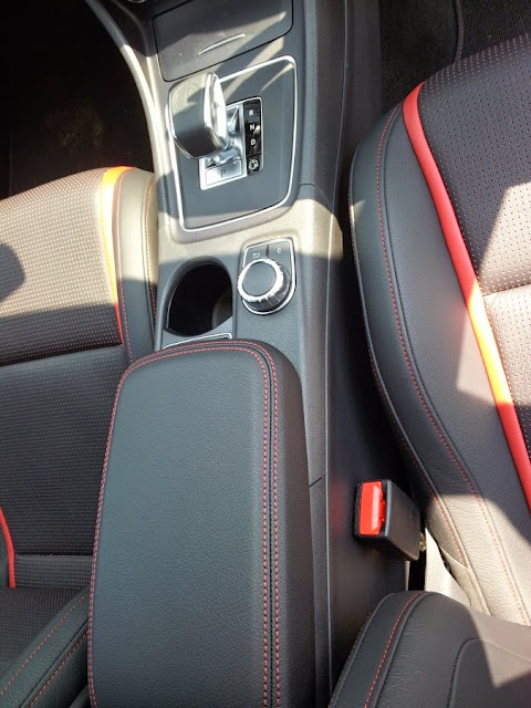 Mercedes A45 AMG centre console