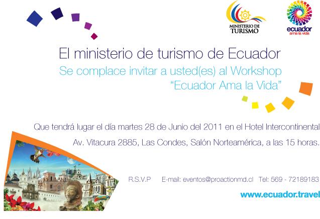 Ministerio de turismo ecuador ministerio de turismo for Ministerio del turismo