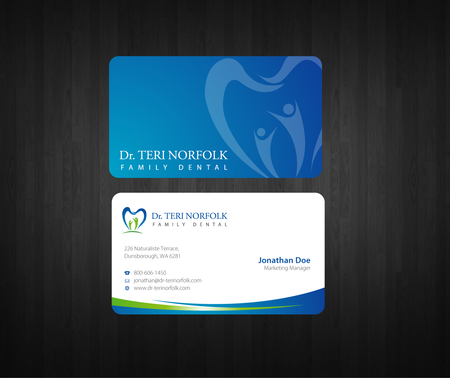 health business card design ~ Tagspice