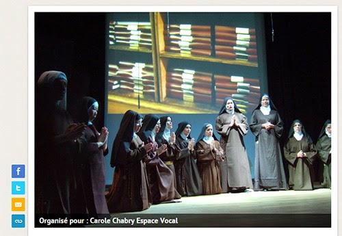 """Cagnotte pour l'Opéra """"Dialogues des Carmélites"""" de Poulenc"""