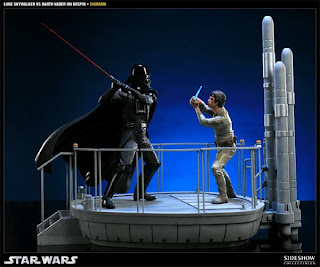 I Am Your Father - Luke Skywalker VS Darth Vader on Bespin Diorama