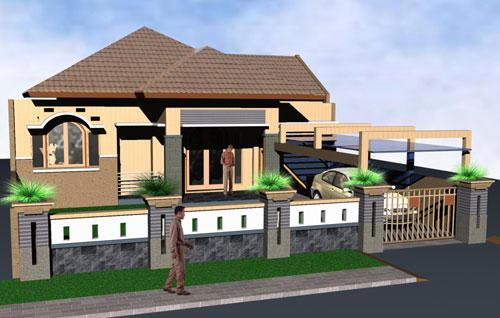 Desain Rumah Cantik Sederhana
