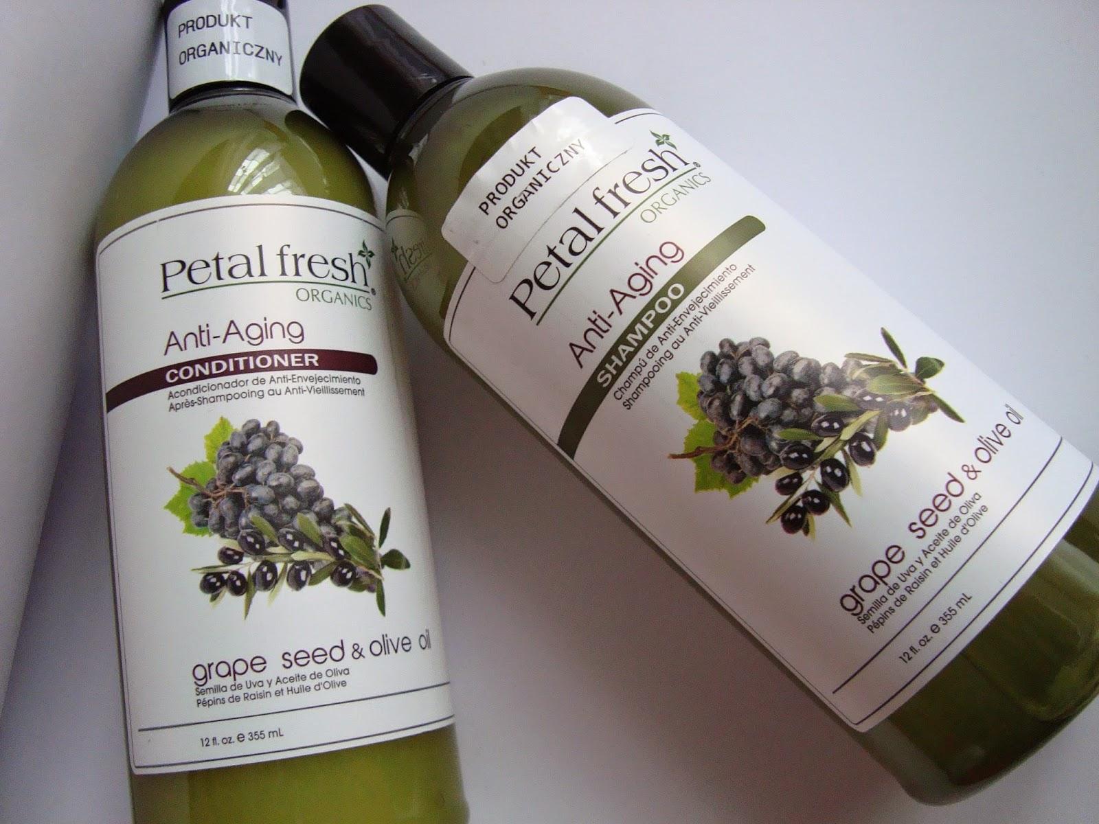 Petal Fresh Anti Aging Winogrona i Oliwki - Szampon i odżywka