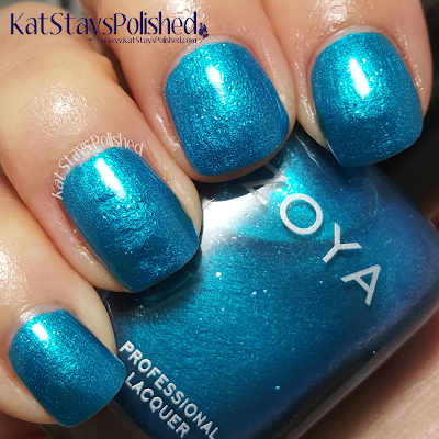 Zoya Paradise Sun - Oceane | Kat Stays Polished