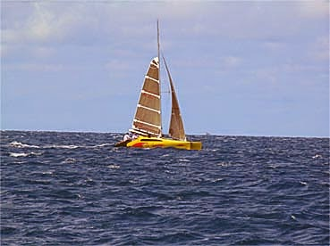 Do it slow with the catamaran and enjoy