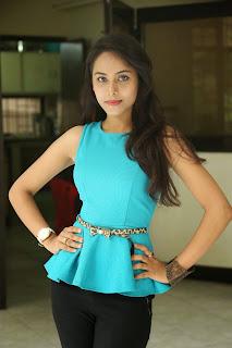 Kenisha Chandran Stills At Jagannatakam Movie Release Press Meet 9.jpg