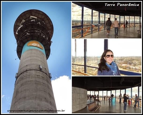 torre panorâmica em Curitiba