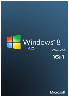 Windows 8 – AIO 16 em 1 x86 e x64 download baixar torrent