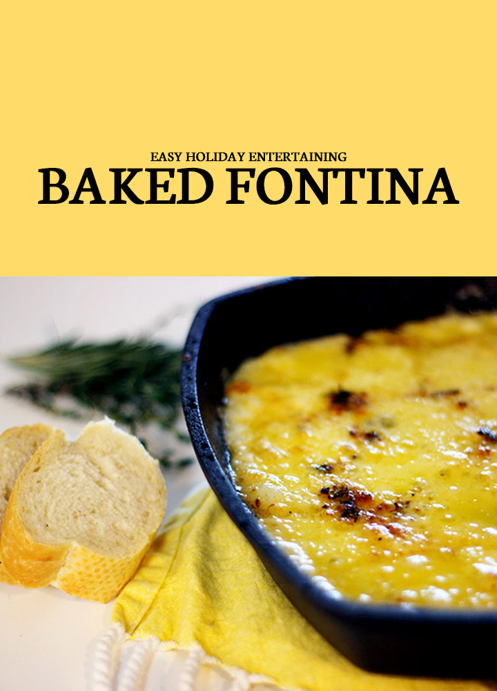 Baked Fontina Christmas Dip Recipes