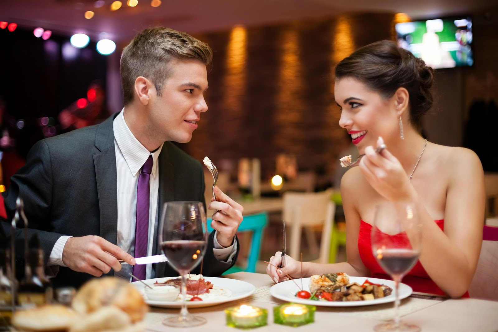 Image result for date in restaurant