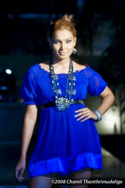 Natasha Rathnayaka blue