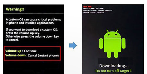 how to enter download mode galaxy tab 2