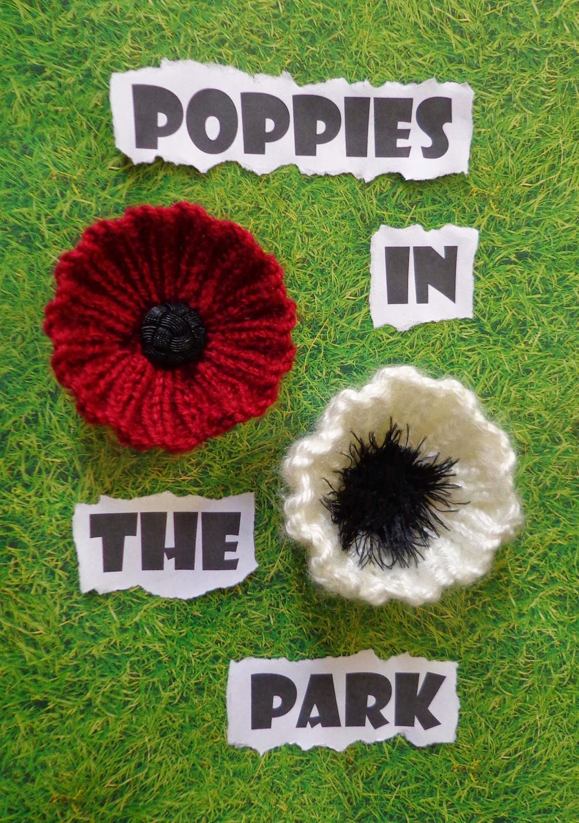 Hippystitch: Poppies in the Park Knitting Patterns