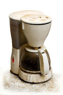 dirty coffee maker How To Clean A Coffee Maker With Baking Soda