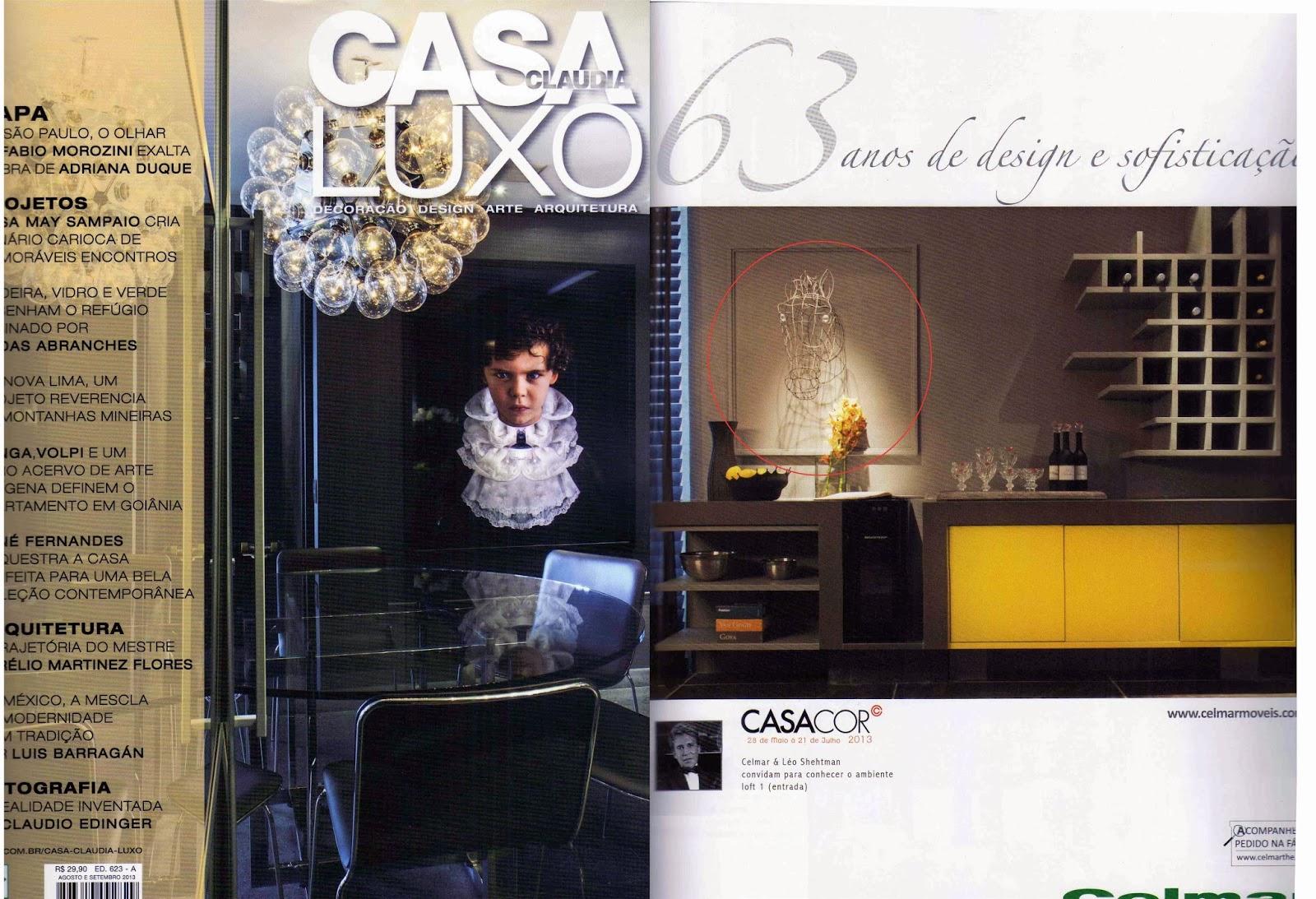 Roberto romero casa claudia luxo magazine july 2013 for Casa magazine