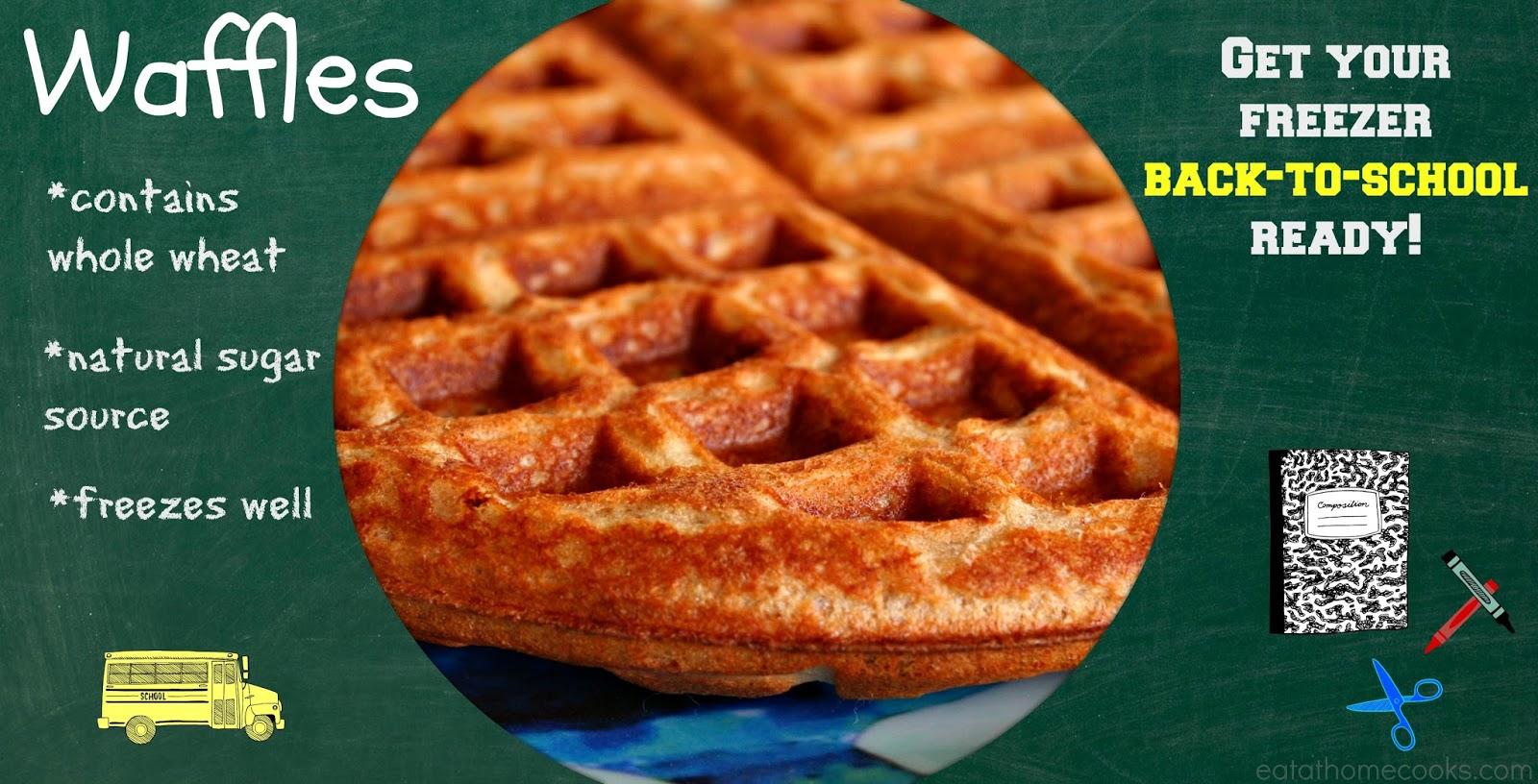 Makin' it Mo' Betta: Whole Grain Waffles {Freezer Friendly Round Up}