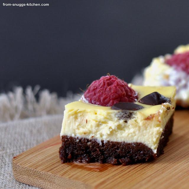 Himbeer-Cheesecake-Bars