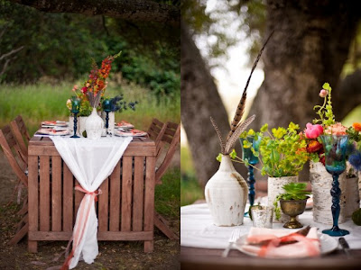 Life of a Vintage Lover California Bohemian Wedding Al Fresco