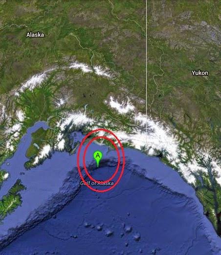 Magnitude 3.5 Earthquake of Middleton Island, Alaska 2014-09-11