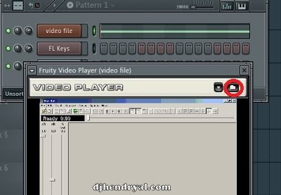 Cara masukin file video ke Fl studio
