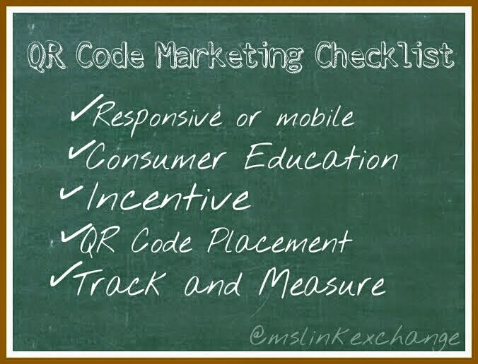 QR Code Marketing Checklist