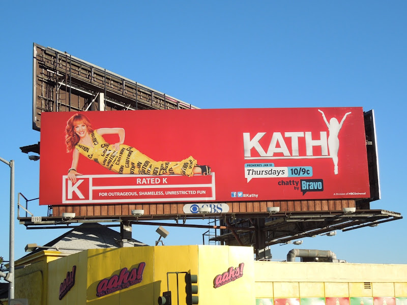 Kathy Griffin talk show season 2 billboard