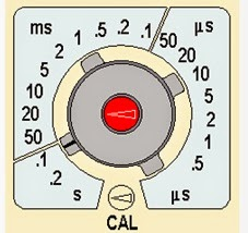 Osiloskop kurulumu Time Div ayarı