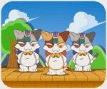 Game Ban nhạc ba con mèo