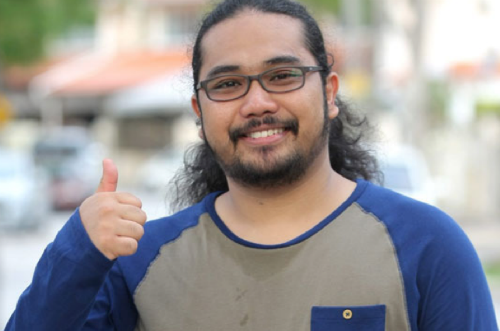 Johan Raja Lawak Black List Blogger
