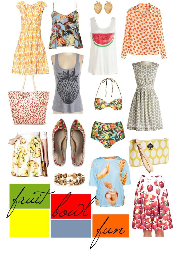 Lemon Poppy Dress // Topshop