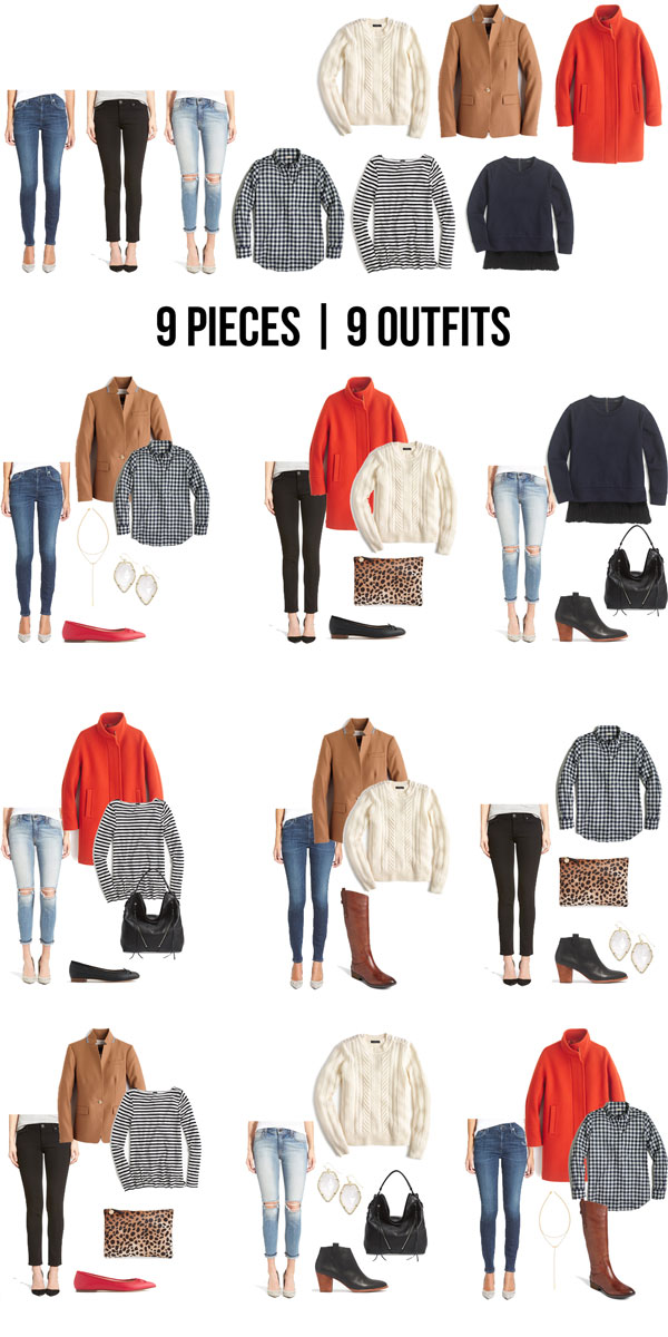 9 Pieces 9 Outfits Winter 2016 The Good Life For