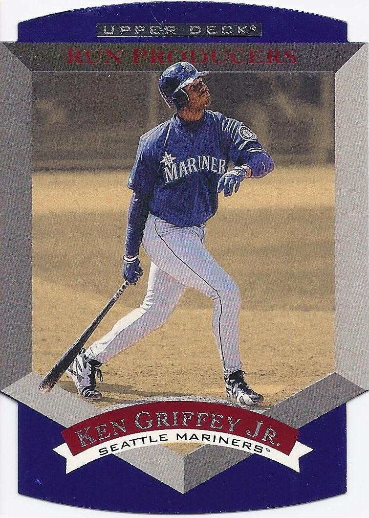 1997 Upper Deck Predictors #P26 Ken Griffey Jr Seattle Mariners Baseball Card