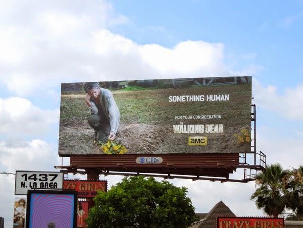 Walking Dead Something Human Carol Emmy 2014 billboard