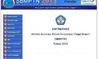 Pengumuman Hasil SBMPTN 2013