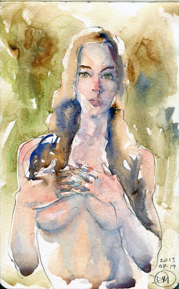 Nude by David Meldrum 20130719