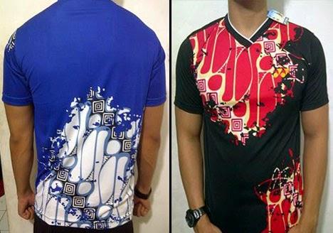 Foto Baju Batik Yonex