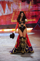 Adriana Lima in a hot circus outfit