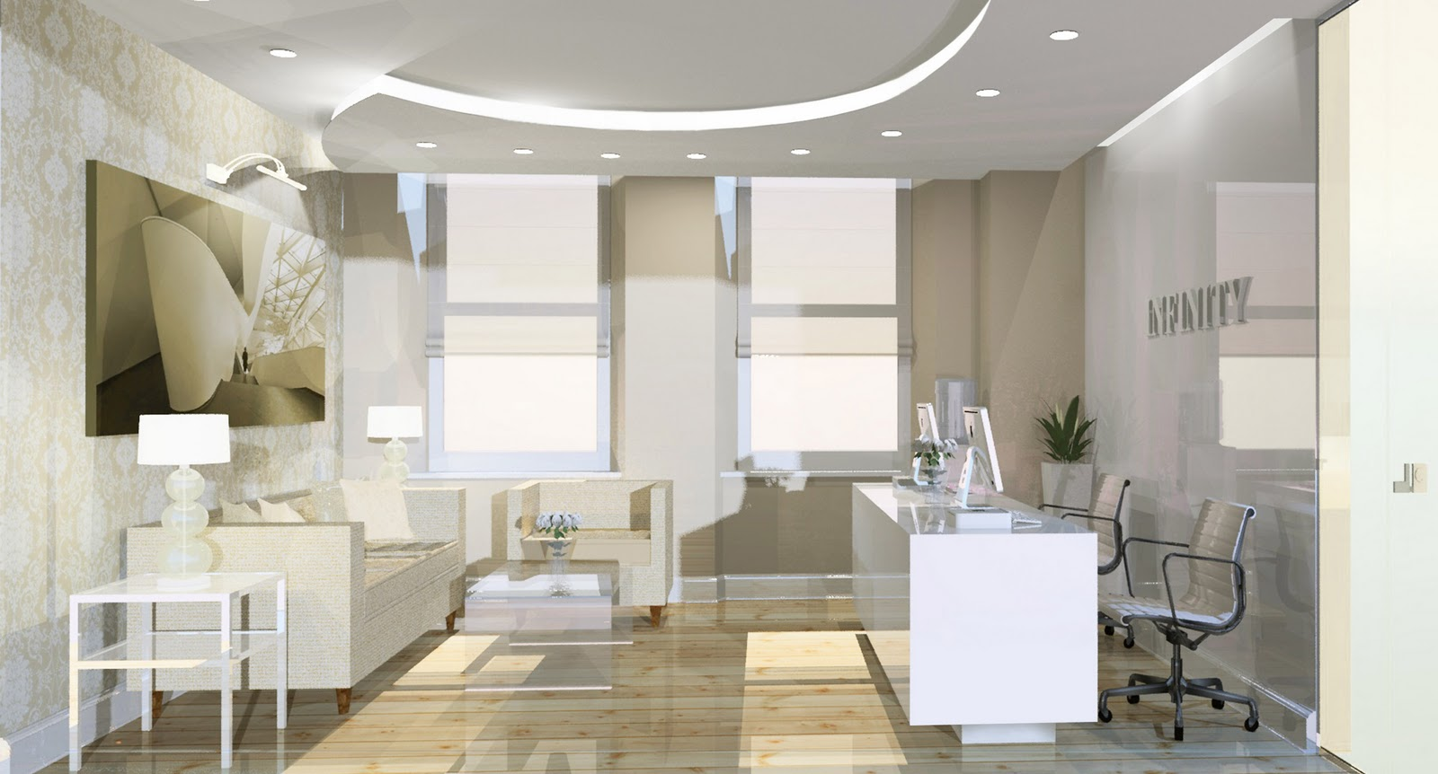 Eleni soussoni design for Modern office area