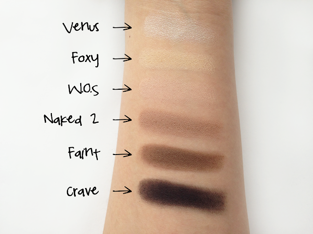 urban decay naked basics palette review twoplicates swatches
