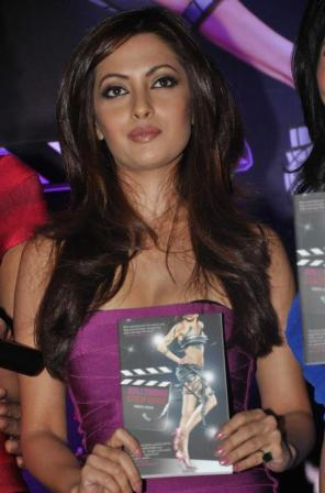 Riya Sen in Sexy Dress1 - Hot Riya Sen Launch Bollywood Striptease Book 