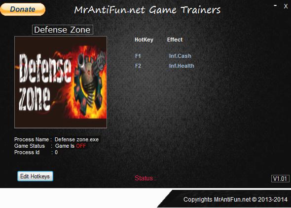 Defense Zone V4.5.2.26832 Trainer +2 MrAntiFun
