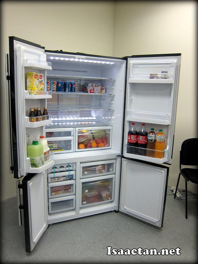 Mitsubishi Electric L4 Grande Refrigerator