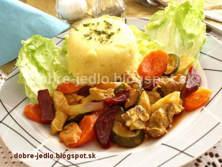 Bravčové stehno so zeleninou - recepty
