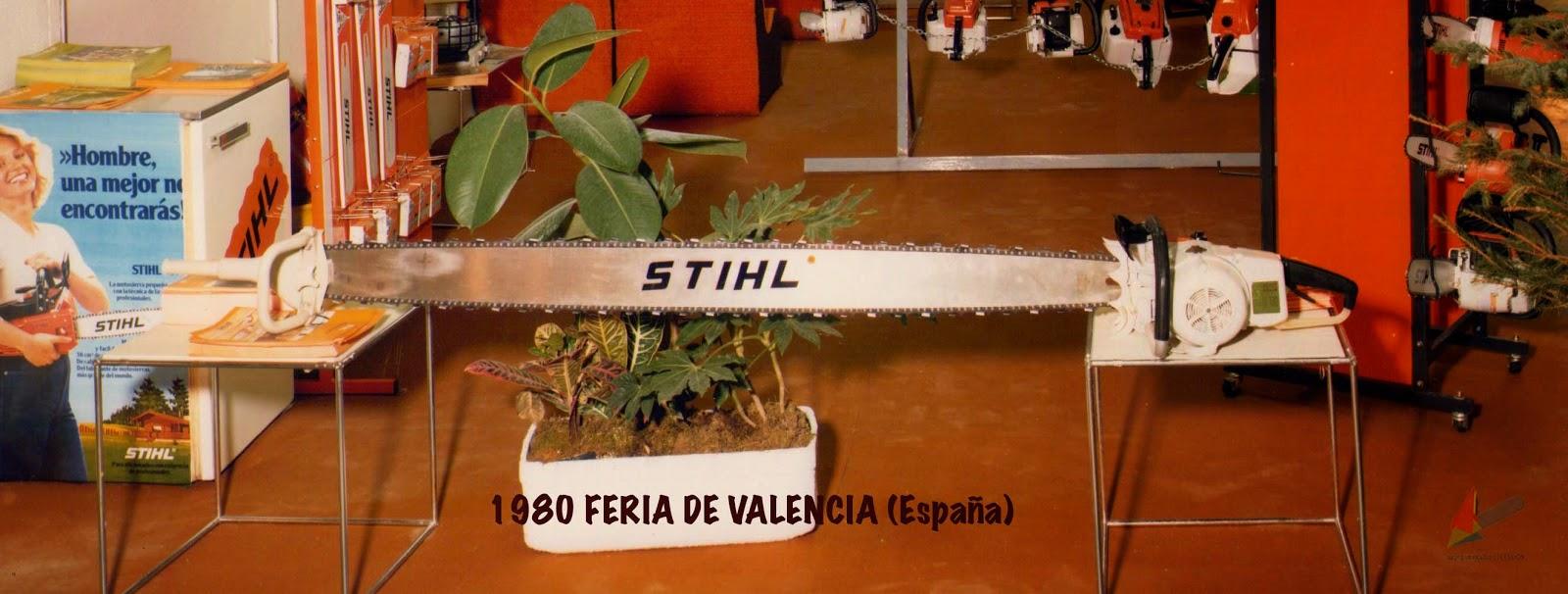 Motosierra Eléctrica Stihl - Vintage/Old Stihl Electric Chainsaw