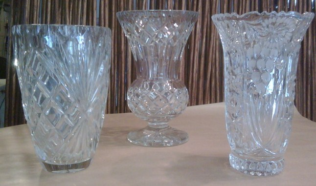 Vintage Glass Vases